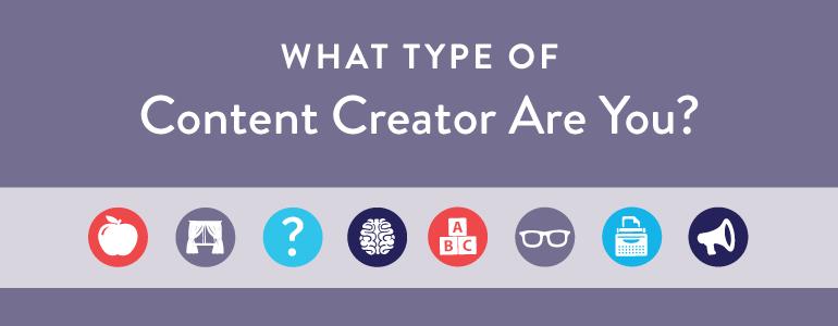 type content creator